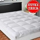 SOPAT Extra Thick Mattress Topper (King),Cooling Mattress Pad Cover,Pillow Top C