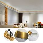 Room Wall Molding Skirting Line Mural Border Sticker Tape Self Adhesive Decal