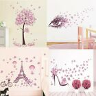 Butterfly Fairy Bedroom Wall Sticker Living Room Flower Ornament Home Decor