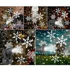 Christmas LED Moving Outdoor Laser Projector Snowflake Lights Party Garden Lamps