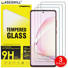 For Samsung Galaxy S20 FE 5G Premium HD-Clear Tempered Glass Screen Protector X3