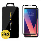{1-3Pack} SOINEED® LG V30 3D Curved FULL COVER Tempered Glass Screen Protector