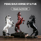 Resin Horse Statue Ornament Figurine Chic Home Hotel Feng Shui Decor Gift Art