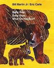 Baby Bear Baby Bear What Do You See- NEW Hardcover book with poster Eric Carle