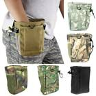 Hunting Hiking Military Molle Belts Tactical Paintball Magazine Dump Pouch Bags