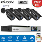LOT KKMOON 4/8CH 1080P DVR Kit Outdoor/Indoor CCTV Security Camera System G2T3