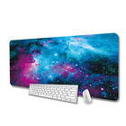 Extended Mouse Pad Keyboard Mat w/ Stitched Edges for Work Gaming Office Home