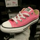 CONVERSE CHUCK TAYLOR ALL STAR OX LOW 3J238 PINK SNEAKER UNISEX YOUTH SHOES