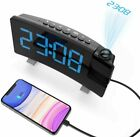 Smart Alarm Clock Radio w/Bluetooth Speaker,USB Charger for iPhone and Androi