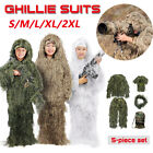 Ghillie Suit Pants Large Long Top Large Regular With Tactical Rifle Wrap 5 in 1