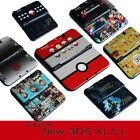 Snap on Case Cover Shell for Nintendo New 3DS XL 20 Designs