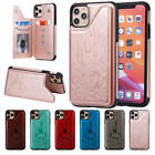 Classic PU Leather Case Hybrid Cover Shockproof for Apple iPhone 11 Pro Max