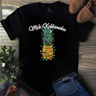 Mele Kalikimaka Pineapple Christmas Light Funny Gift T-Shirt For Men Women