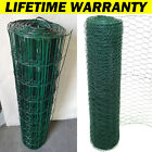 10-50M Galvanised Welded Wire Mesh Roll Chicken Run Rabbit Fencing Aviary Fence