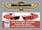1967 Ford Mustang  1967 Ford Mustang Body Shell - Brand New - All Years and Models Available