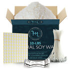 Купить Natural Soy Wax and Candle Making Supplies Wicks Glue Dots and Centering Devices