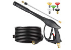 High Pressure Washer Power Spray Gun Kit 4000 Psi Nozzle Extension Wand Hose M22