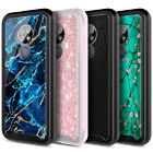 For AT&T Radiant Max Case Full Body Bumper Phone Cover Built-In Screen Protector