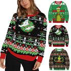 Men's Women Couple Matching * ▪ Grinch Jumper Casual Sweater Pullover