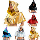 Cloak Cape Capes Cosplay Steampunk Women Medieval Halloween Witchcraft