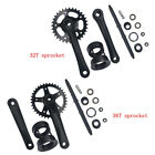 32T/36T Single Speed Crankset  Wide Pedal Crank Assembly kit-Gas motorized bike