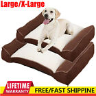 Deluxe Orthopaedic Soft Dog Pet Warm Sofa Bed Pillow Cushion Chair Large X-Large
