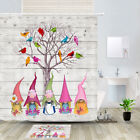 Leprechaun And Bird Shower Curtain Bathroom Decor Fabric 12hooks 71in