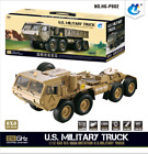 1/12 8*8 RC US Military Truck Model Metal Chassis Motor ESC Servo Radio HG P802