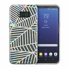 Rebecca Minkoff Samsung Galaxy S8 / S8+ Geometric Case Cover Holographic Clear