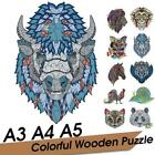 Animal Wooden Jigsaw Puzzles For Adults Kids Decompression Gift High-quality