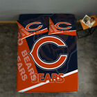 Chicago Bears Football Pocket Sheet 3PCS Fitted Sheets &Pillowcase Bedding Sets