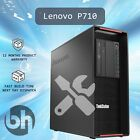 Lenovo P710 Configurable Win10Pro PC Choose upto 3.5GHz/8Core 96GB RAM 512GB SSD