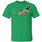 Unisex Kids Valentines Day T-Rex Dinosaur I Steal Hearts Gift  Youth T-Shirt