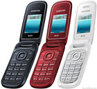Brand New Samsung Gt-e1272 2g Dual Sim Basic Flip Phone Unlocked Radio Mobile