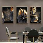 50-75cm Living Room Decoration Canvas Black Golden Poster Picture Wall Art Paint