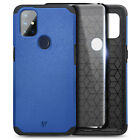 For OnePlus Nord N10 5G Case Dual Layer Shockproof Hard PC Cover +Tempered Glass