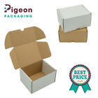 SHIPPING CARDBOARD BOXES POSTAL ROYAL MAILING SMALL PARCEL WHITE & BROWN 5x4x3