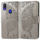 Butterfly Wallet Leather Flip Cover Case For Xiaomi Redmi Note 9S 9A 9C 8A 7A 6A