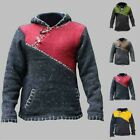Long Sleeve Mens Pullover Jumper Knitted Loose Mens Outwear Pullover Tops Winter