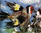 Bird And Flowers By Pablo Picasso Painting Paint By Numbers Kit DIY Artwork