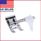 Adjustable Sliding Seam Allowance Guide Foot for Brother Singer Sewing Machine