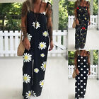 Jumpsuit Sling Suit Loose Sleeveless Playsuit Rompers Wide Leg Trousers Women's