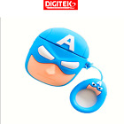Cute 3D Cartoon Silicone Case Cover For Airpods 1 2 Apple Case US TPU Hero Star