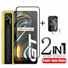 2-in-1 For OPPO Realme GT 5G Glass For Realme GT 5G Tempered Glass Full Cover