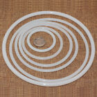 1 x Large Round 6-25cm White Plastic Dreamcatcher Dream Catcher Hoop Ring 1