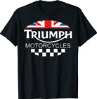 Motorcycle Triumph Biker Uk United Kingdom T-Shirt S-5XL Free Shipping