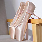 Women Girls Ballet Dance Shoes Soft Pointe Shoes in