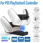 For PS5 PlayStation5  Dualsence Controller Charging Dock Station Charger Stand