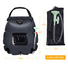 20L Portable Solar Shower Bag Water Heater Heating Bath Bag Outdoor Camping