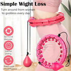 Внешний вид - Hula Hoop Collapsible Weighted Fitness Waist Abs Exercise Gym Workout Body Build